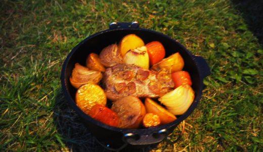 ローストポークをダッチオーブンで作ったぞ