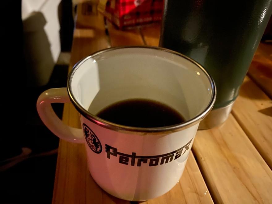 メープル那須でコーヒー